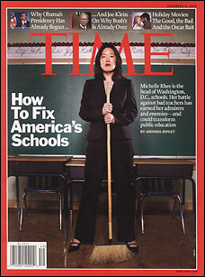 michelle rhee time cover