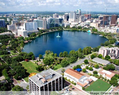 Lake Eola & Downtown Orlando, just minutes from my house